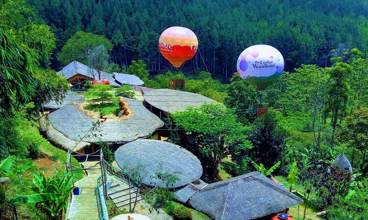 Balon udara the lodge maribaya